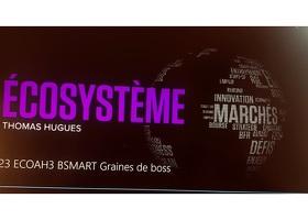 Concours Graines de Boss présenté par Thomas Hugues, dans l'émission EcoSystem.